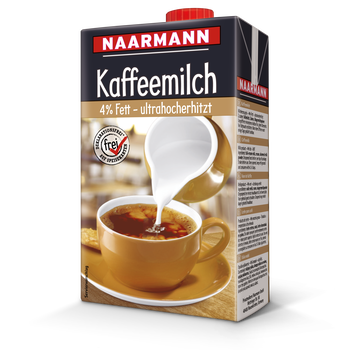 Coffee milk, 4% - Naarmann