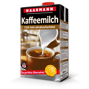 Coffee milk, 7.5% - Naarmann