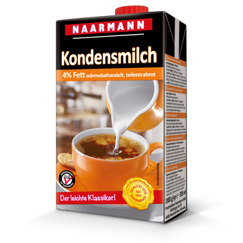 Condensed milk, 4% - Naarmann