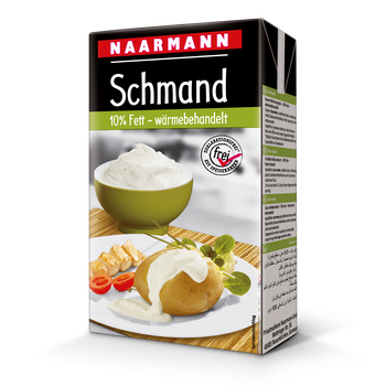 Sour cream, 10% - NAARMANN