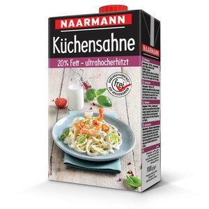 Cooking cream, 20% - NAARMANN