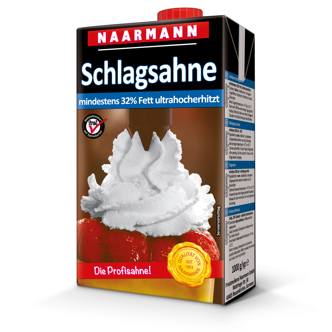 Uht Whipping Cream 32 Naarmann